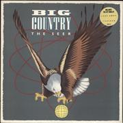 Click here for more info about 'Big Country - The Seer - stickered p/s + gold promo stamp'