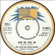 Click here for more info about 'Big Youth - Ride On, Ride On'