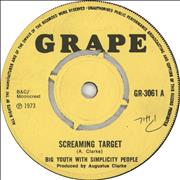 Click here for more info about 'Big Youth - Screaming Target'