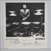 Click here for more info about 'Bill Bruford's Earthworks Band - Signed'