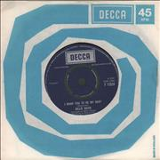 "Billie Davis I Want You To Be My Baby UK 7"" vinyl"