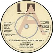 Click here for more info about 'Billie Davis - I've Been Loving Someone Else'
