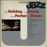 Click here for more info about 'Billie Holiday - Europa Jazz'