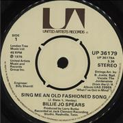 Click here for more info about 'Billie Jo Spears - Sing Me An Old Fashioned Song'
