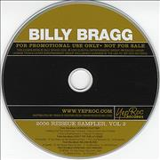 Click here for more info about 'Billy Bragg - 2006 Reissue Sampler Volume 2'
