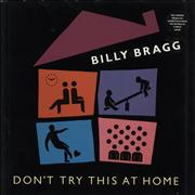 Click here for more info about 'Billy Bragg - Don't Try This At Home - Hype Stickered Sleeve'