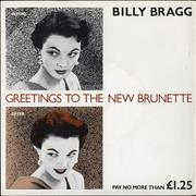 Click here for more info about 'Billy Bragg - Greetings To The New Brunette'