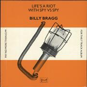 Click here for more info about 'Billy Bragg - Life's A Riot With Spy Vs Spy'