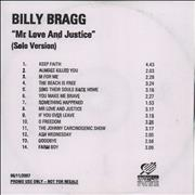 Click here for more info about 'Mr Love & Justice (Solo Version)'