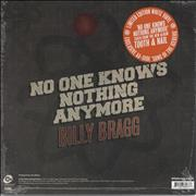 Click here for more info about 'Billy Bragg - No One Knows Nothing Anymore - RSD13 - Sealed'