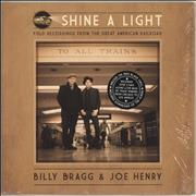 Click here for more info about 'Billy Bragg - Shine A Light : Field Recordings From The Great American Railroad - 180gm'