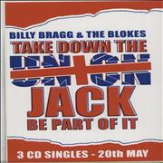 Click here for more info about 'Billy Bragg - Take Down The Union Jack - Sticker Set'