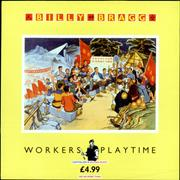 Click here for more info about 'Billy Bragg - Workers Playtime - Promo Stamped'