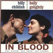 Click here for more info about 'Billy Childish - In Blood - Red & Black Splattered Vinyl'