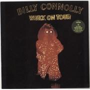 Billy Connolly Wreck On Tour - Stickered Sleeve UK vinyl LP