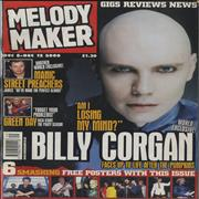 Click here for more info about 'Billy Corgan - Melody Maker - December 2000'