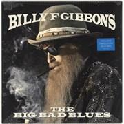 Billy F. Gibbons The Big Bad Blues - Blue - Sealed UK vinyl LP