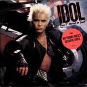 Click here for more info about 'Billy Idol - Don't Need A Gun - Stickered sleeve'