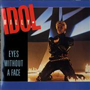 "Billy Idol Eyes Without A Face - Gatefold sleeve UK 7"" vinyl"