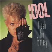 "Billy Idol Flesh For Fantasy UK 7"" vinyl"