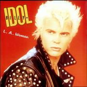 "Billy Idol L.A. Woman UK 7"" vinyl"