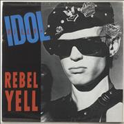 "Billy Idol Rebel Yell + Sleeve UK 7"" vinyl"
