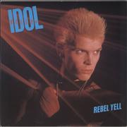 "Billy Idol Rebel Yell - Picture Sleeve UK 12"" vinyl"
