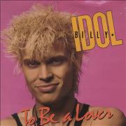 "Billy Idol To Be A Lover UK 7"" vinyl"