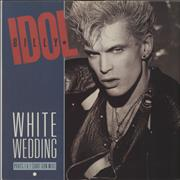 Click here for more info about 'Billy Idol - White Wedding - Black Vinyl'