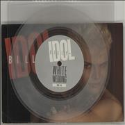 Click here for more info about 'Billy Idol - White Wedding - Clear Vinyl + Postcard'