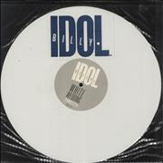 "Billy Idol White Wedding - white vinyl - Stickered UK 12"" vinyl"