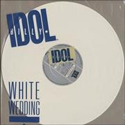 Click here for more info about 'Billy Idol - White Wedding - white vinyl'