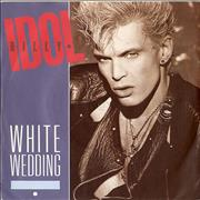 "Billy Idol White Wedding UK 7"" vinyl"