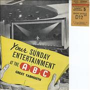 Click here for more info about 'Billy J. Kramer & The Dakotas - ABC Great Yarmouth'