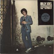 Click here for more info about 'Billy Joel - 52nd Street - Hype Sticker'
