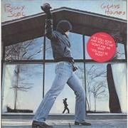 Billy Joel Glass Houses - Hype-stickered opened shrink USA vinyl LP