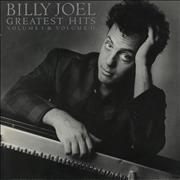Billy Joel Greatest Hits Volume I & Volume II UK 2-LP vinyl set