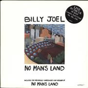 Click here for more info about 'Billy Joel - No Man's Land - Stickered Sleeve'
