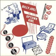 Click here for more info about 'Billy Joel - Uptown Girl - Solid + Picture Sleeve'