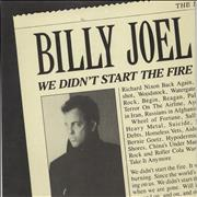 Click here for more info about 'Billy Joel - We Didn't Start The Fire'