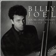 Click here for more info about 'Billy Joel - You're Only Human (Second Wind) + P/S'