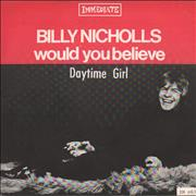 Click here for more info about 'Billy Nicholls - Would You Believe - p/s'