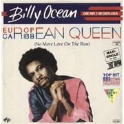 Click here for more info about 'Billy Ocean - European Queen - Green Vinyl'