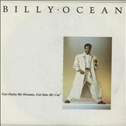 Click here for more info about 'Billy Ocean - Get Outta My Dreams, Get Into My Car - Matte Picture Sleeve'