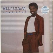 Click here for more info about 'Billy Ocean - Love Zone - Stickered Sleeve'