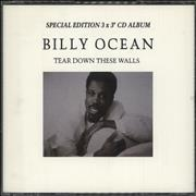 Click here for more info about 'Billy Ocean - Tear Down These Walls - Special Edition 3 x 3