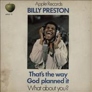 Click here for more info about 'Billy Preston - That's The Way God Planned It - P/S - VG'