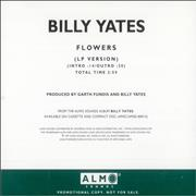 Click here for more info about 'Billy Yates - Flowers'