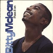Click here for more info about 'Bitty McLean - Pass It On'