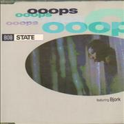 Bjork Ooops - With 808 State UK CD single